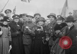 Image of Crowds celebrate World War I Armistice Paris France, 1918, second 4 stock footage video 65675041809