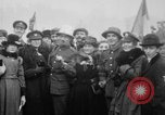 Image of Crowds celebrate World War I Armistice Paris France, 1918, second 7 stock footage video 65675041809