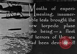 Image of torpedo plane United States USA, 1925, second 1 stock footage video 65675041841