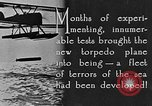 Image of torpedo plane United States USA, 1925, second 2 stock footage video 65675041841