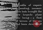 Image of torpedo plane United States USA, 1925, second 7 stock footage video 65675041841