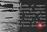 Image of torpedo plane United States USA, 1925, second 10 stock footage video 65675041841