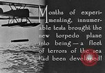 Image of torpedo plane United States USA, 1925, second 11 stock footage video 65675041841