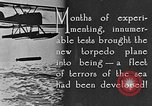 Image of torpedo plane United States USA, 1925, second 12 stock footage video 65675041841