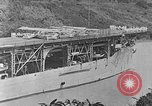 Image of The Aircraft Carriers USS Langley in Panama Canal and USS Saratoga bei Panama, 1925, second 10 stock footage video 65675041842
