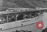 Image of The Aircraft Carriers USS Langley in Panama Canal and USS Saratoga bei Panama, 1925, second 11 stock footage video 65675041842