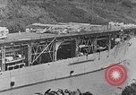 Image of The Aircraft Carriers USS Langley in Panama Canal and USS Saratoga bei Panama, 1925, second 12 stock footage video 65675041842