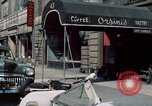 Image of New York City theaters and food New York City USA, 1956, second 9 stock footage video 65675041847