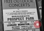 Image of Leonard Bernstein Brooklyn New York City USA, 1966, second 5 stock footage video 65675041869