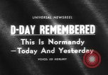 Image of Allied Forces Normandy France, 1964, second 2 stock footage video 65675041870