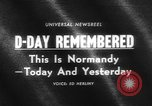 Image of Allied Forces Normandy France, 1964, second 3 stock footage video 65675041870