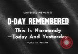 Image of Allied Forces Normandy France, 1964, second 4 stock footage video 65675041870