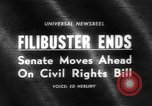 Image of Civil Rights Bill Washington DC USA, 1964, second 1 stock footage video 65675041871