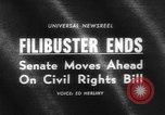 Image of Civil Rights Bill Washington DC USA, 1964, second 2 stock footage video 65675041871