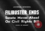 Image of Civil Rights Bill Washington DC USA, 1964, second 4 stock footage video 65675041871