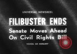 Image of Civil Rights Bill Washington DC USA, 1964, second 5 stock footage video 65675041871
