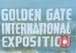 Image of Golden Gate Exhibition San Francisco California USA, 1939, second 2 stock footage video 65675041890