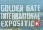 Image of Golden Gate Exhibition San Francisco California USA, 1939, second 3 stock footage video 65675041890