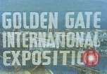 Image of Golden Gate Exhibition San Francisco California USA, 1939, second 4 stock footage video 65675041890