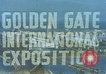 Image of Golden Gate Exhibition San Francisco California USA, 1939, second 5 stock footage video 65675041890