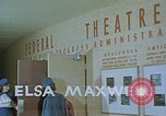 Image of Federal theater San Francisco California USA, 1939, second 4 stock footage video 65675041900