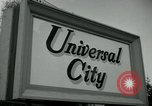 Image of Universal City Hollywood Los Angeles California USA, 1964, second 2 stock footage video 65675041913