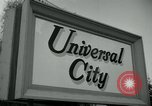 Image of Universal City Hollywood Los Angeles California USA, 1964, second 4 stock footage video 65675041913