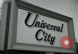 Image of Universal City Hollywood Los Angeles California USA, 1964, second 7 stock footage video 65675041913