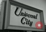 Image of Universal City Hollywood Los Angeles California USA, 1964, second 8 stock footage video 65675041913