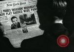 Image of newspapers United States USA, 1938, second 4 stock footage video 65675041915