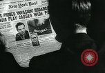 Image of newspapers United States USA, 1938, second 7 stock footage video 65675041915