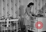 Image of fried egg United States USA, 1938, second 8 stock footage video 65675041917