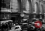 Image of Train station Paris France, 1940, second 5 stock footage video 65675041927