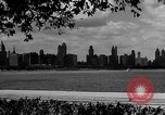 Image of Chicago landmarks and 1950s street scenes Chicago Illinois USA, 1953, second 2 stock footage video 65675041928