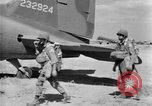 Image of C 47 aircraft with American paratroopers in World War 2 European Theater, 1943, second 4 stock footage video 65675041942