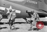 Image of C 47 aircraft with American paratroopers in World War 2 European Theater, 1943, second 7 stock footage video 65675041942