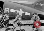 Image of C 47 aircraft with American paratroopers in World War 2 European Theater, 1943, second 9 stock footage video 65675041942