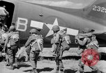 Image of C 47 aircraft with American paratroopers in World War 2 European Theater, 1943, second 10 stock footage video 65675041942
