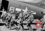 Image of C 47 aircraft with American paratroopers in World War 2 European Theater, 1943, second 11 stock footage video 65675041942