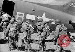 Image of C 47 aircraft with American paratroopers in World War 2 European Theater, 1943, second 12 stock footage video 65675041942