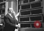 Image of Alfred Hitchcock New York City USA, 1963, second 6 stock footage video 65675041949