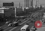 Image of Street scenes Los Angeles California USA, 1950, second 3 stock footage video 65675041952