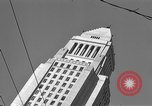 Image of City Hall Los Angeles Los Angeles California USA, 1950, second 2 stock footage video 65675041955