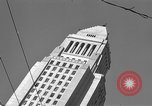 Image of City Hall Los Angeles Los Angeles California USA, 1950, second 4 stock footage video 65675041955