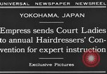 Image of Empress of Japan Yokohama Japan, 1930, second 4 stock footage video 65675041970