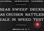 Image of USS Pensacola Brooklyn New York City USA, 1930, second 2 stock footage video 65675041974