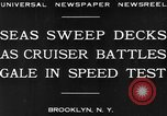 Image of USS Pensacola Brooklyn New York City USA, 1930, second 4 stock footage video 65675041974