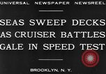 Image of USS Pensacola Brooklyn New York City USA, 1930, second 6 stock footage video 65675041974