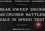 Image of USS Pensacola Brooklyn New York City USA, 1930, second 8 stock footage video 65675041974