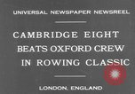 Image of Rowing Classic London England United Kingdom, 1931, second 3 stock footage video 65675041975